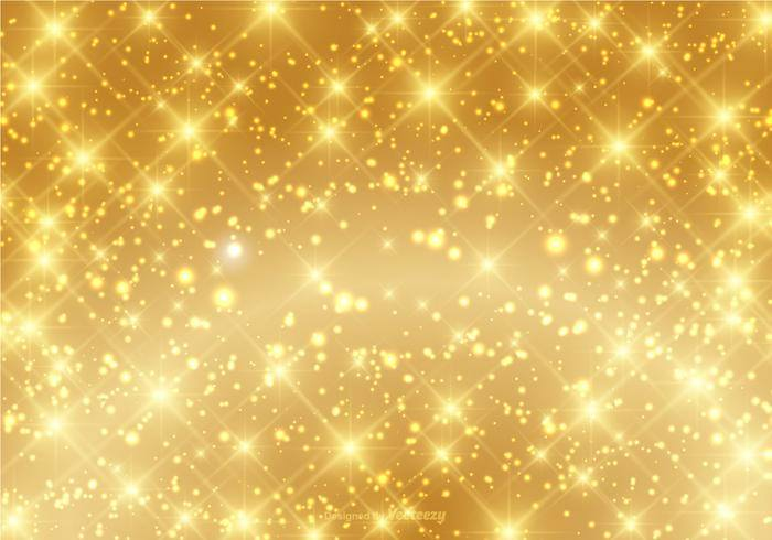 Beautiful Gold Sparkle Background