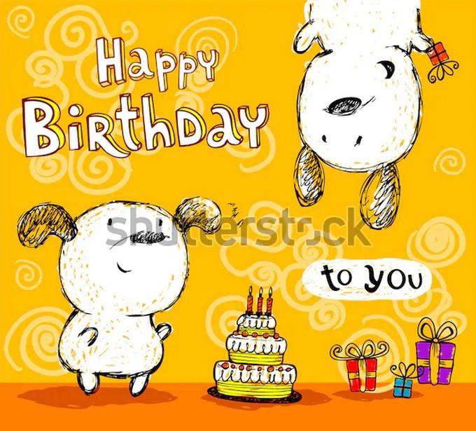 Birthday Card Friends