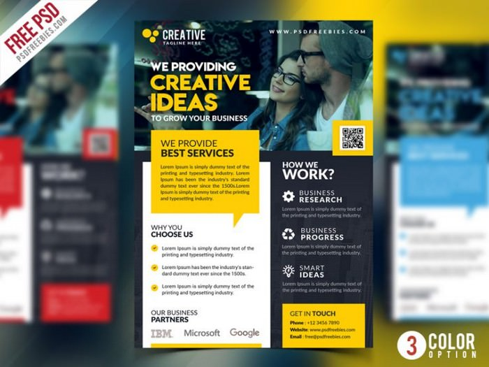 Corporate Business Promotional Flyer