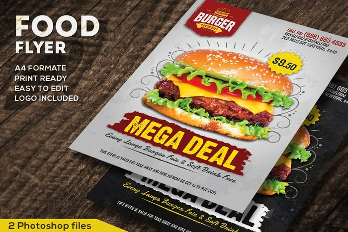 Food Promotional Flyer