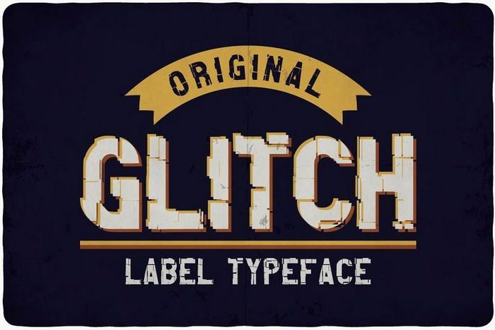 Glitch typeface Original