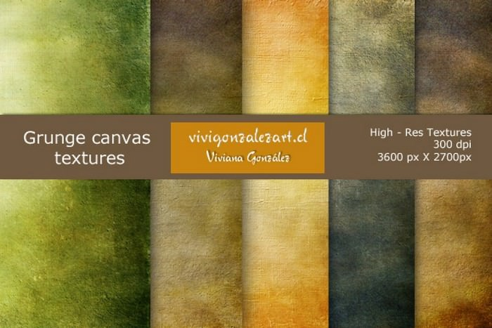 Grunge Canvas Textures
