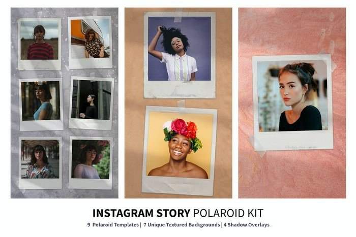 Instagram Story Polaroid Kit