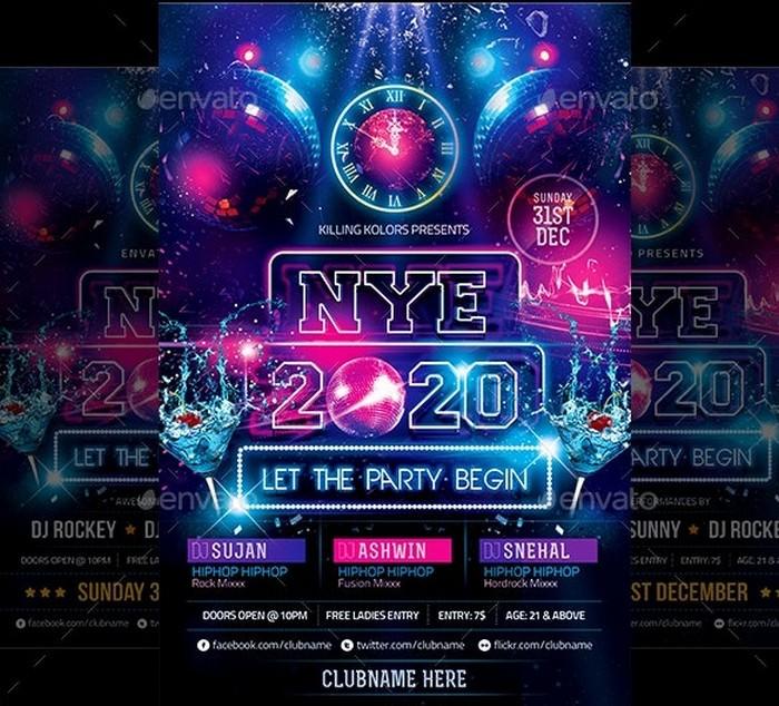 NYE Party Flyer 2020