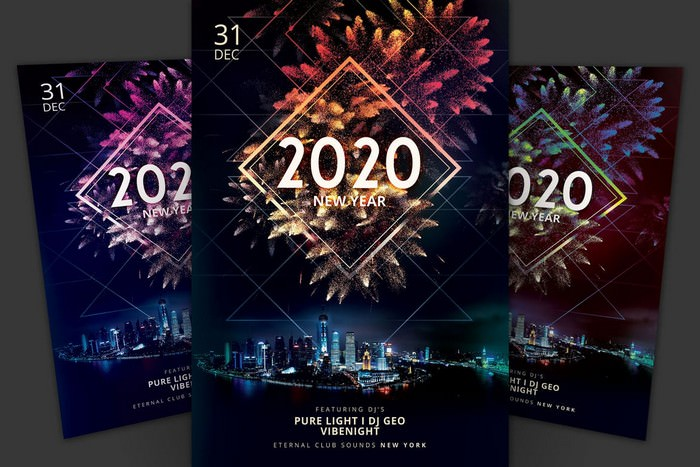 New Year Flyer 2020