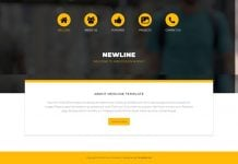 Newline Dreamweaver Template