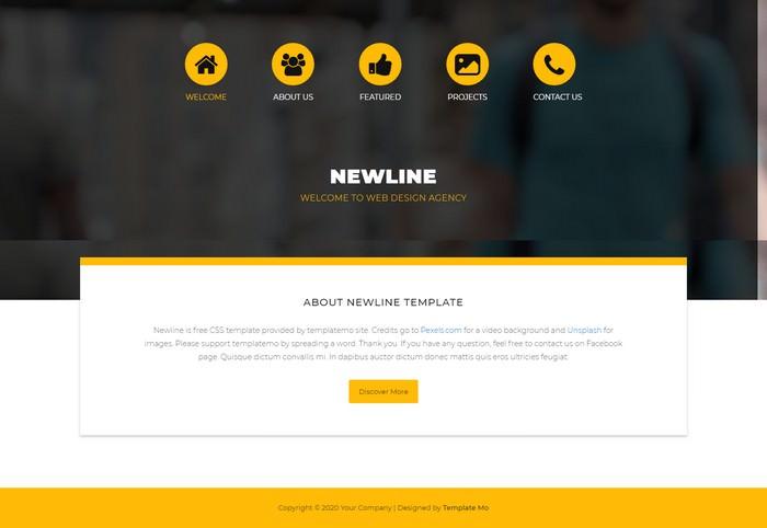 Web Template For Dreamweaver from templatefor.net