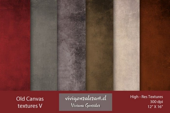 Old Canvas Textures V