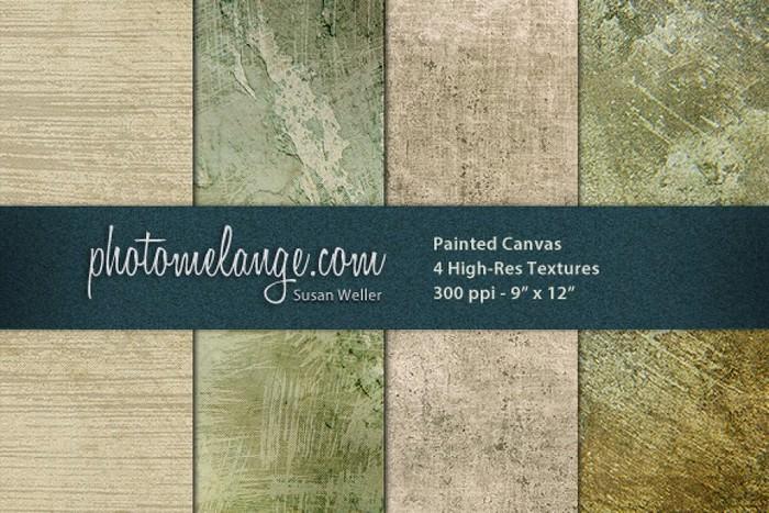 PhotoMelange Painted Canvas