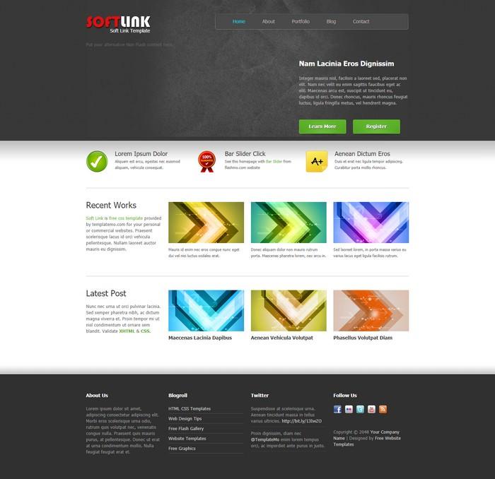 Soft LinkDreamweaver Template