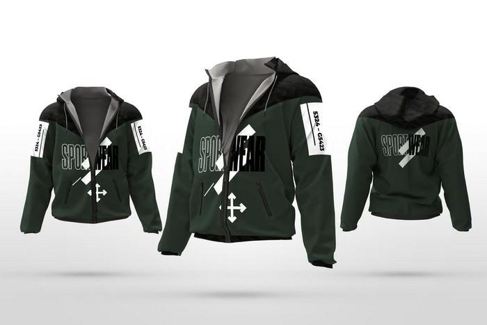 Sport Jacket Mockup