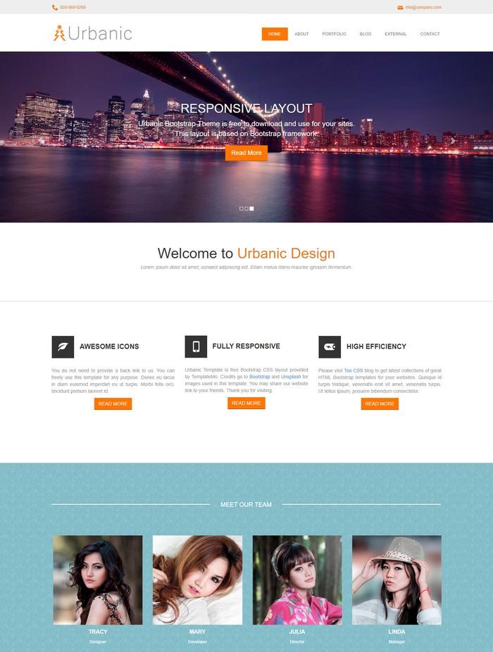 Urbanic Dreamweaver Template