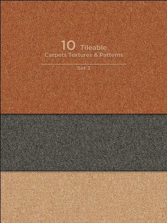 10 Tileable Carpet Textures Patterns