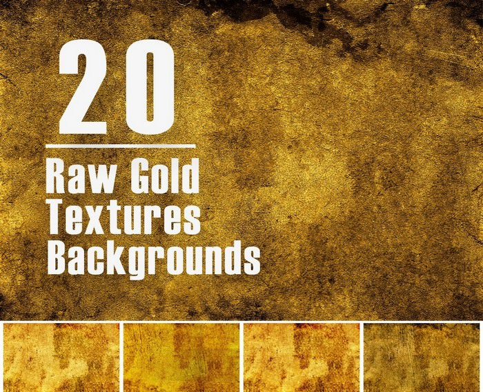 Free Raw Gold Textures
