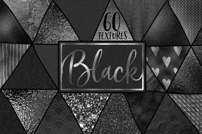 60 Black Texture