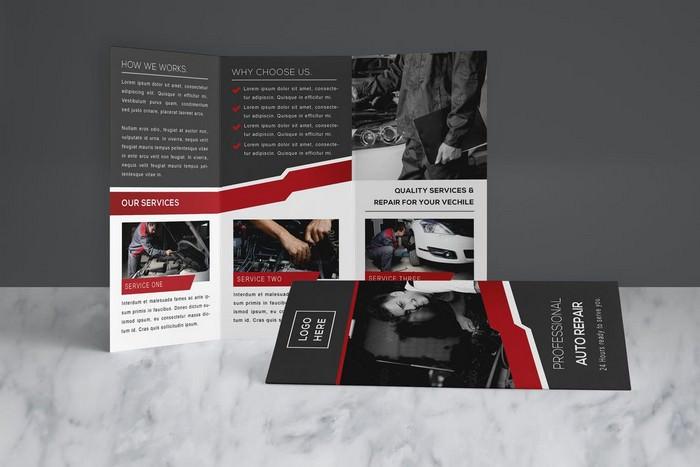 Auto Repair Brochure