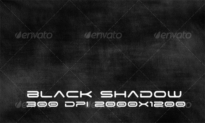 Black Shadow Grunge Texture