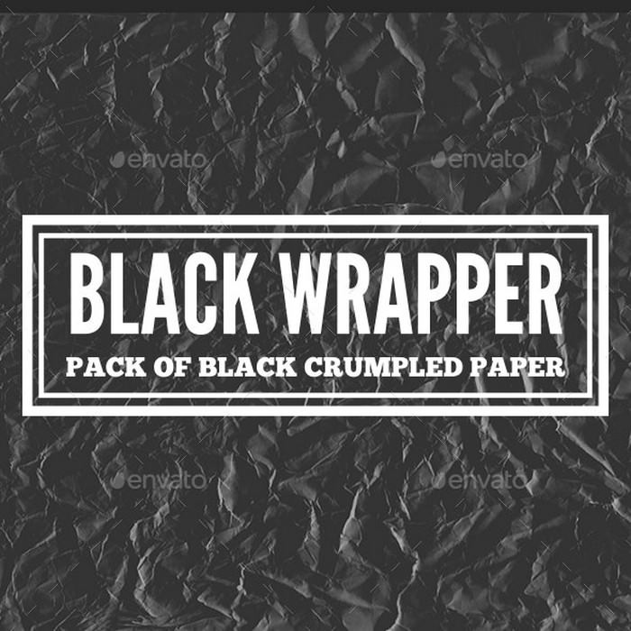 Black Wrapper - Paper Pack