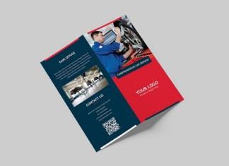 Brochure Auto Repair Bi-Fold DL