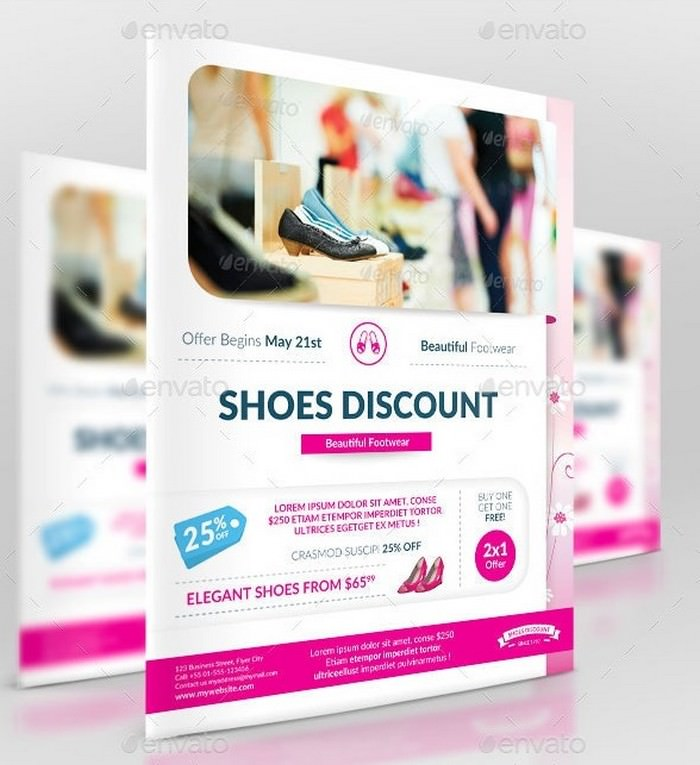 Business Promotion Shoes Discount