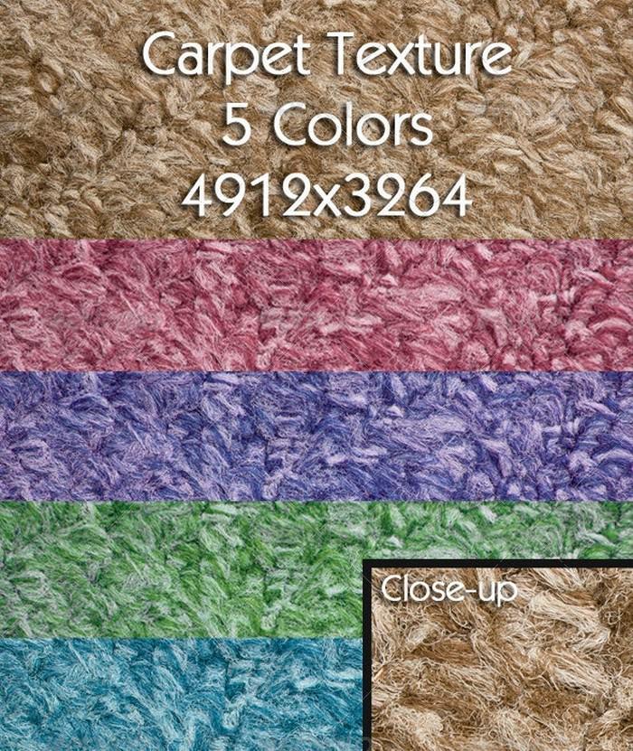 Carpet Texture 5 Colors