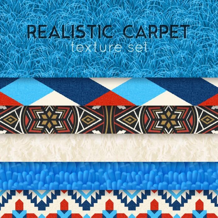 Carpet Texture Realistic Horizontal Set