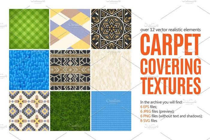 Carpet Textures Set