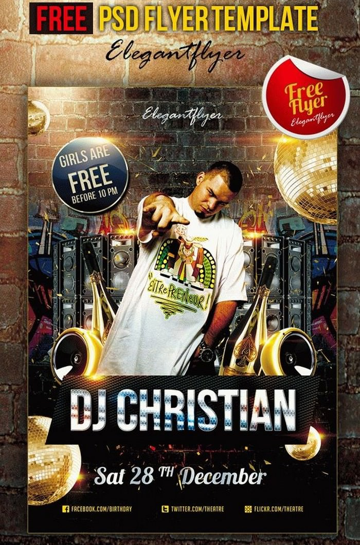 DJ Christian Free Flyer