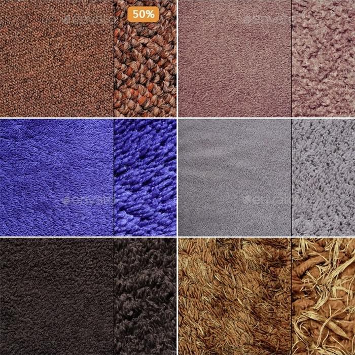 Fabric, Fur & Carpet Textures