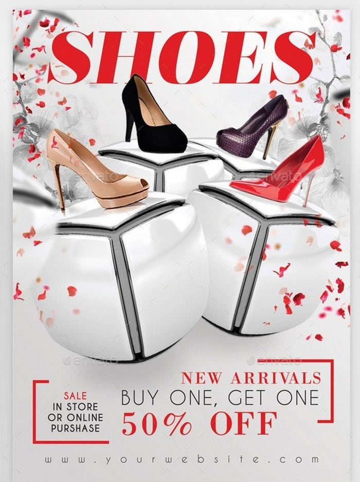 Fashion Shoes Flyer Template