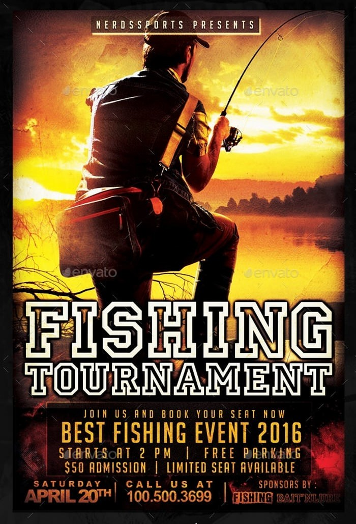Fishing Tournament Sports Flyer