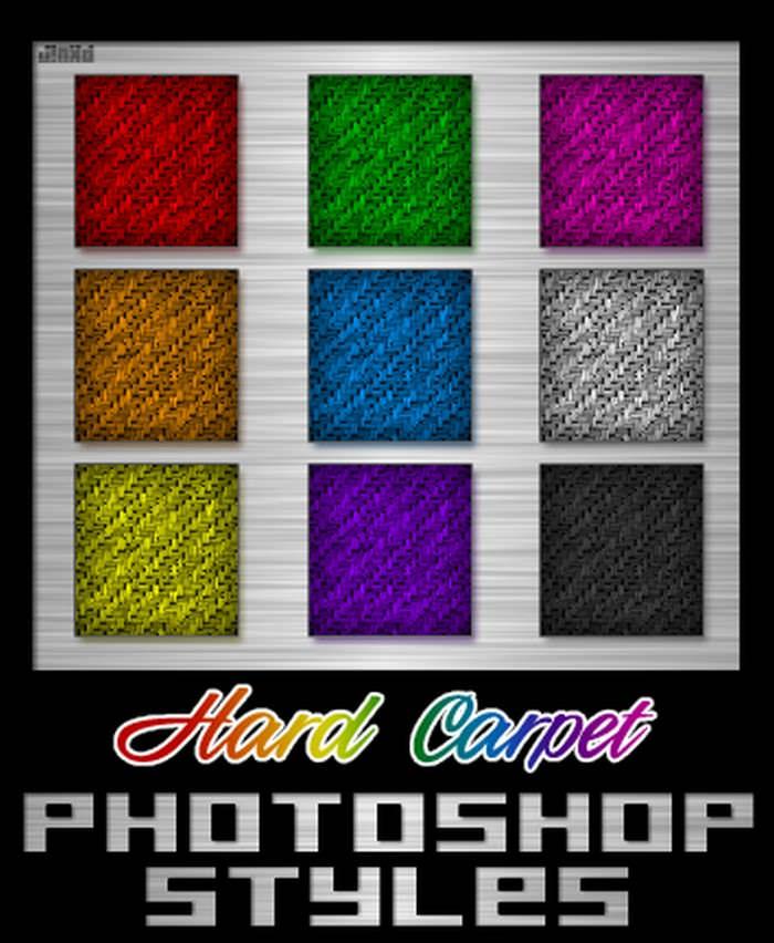 Hard Carpet Photoshop Style