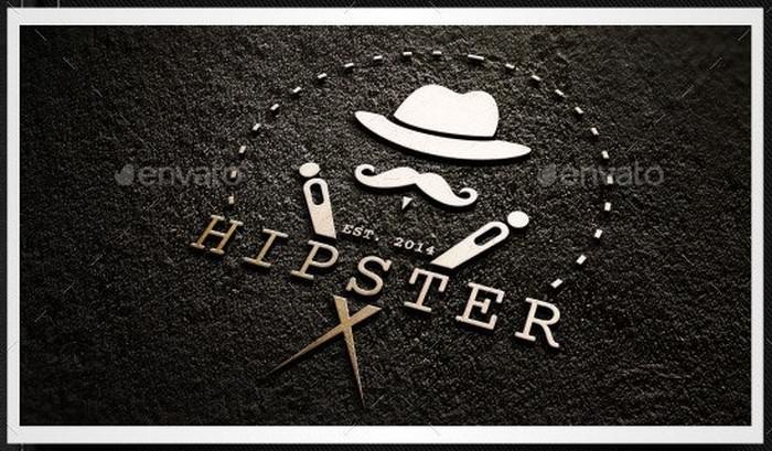 Hipster Gentleman Logo