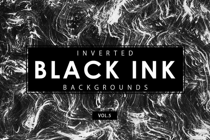 Inverted Black Ink Backgrounds 5