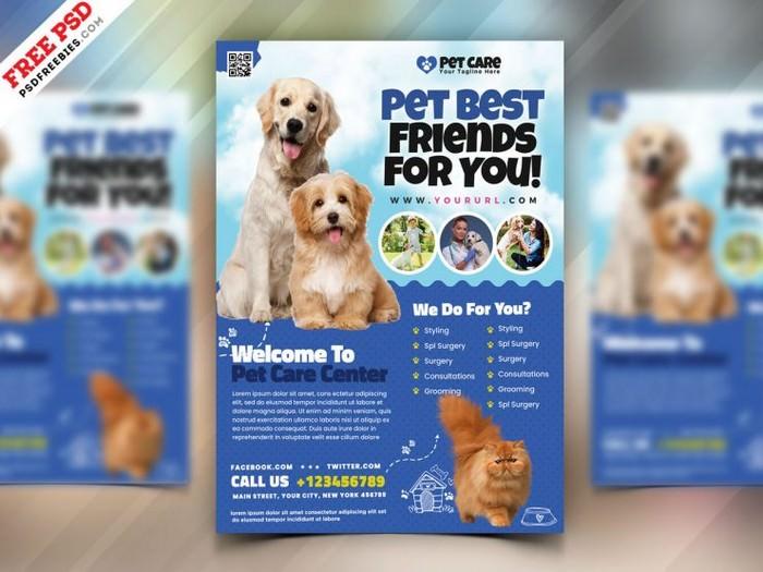 Pet Shop Flyer Template