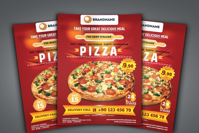 Pizza Flyer A4