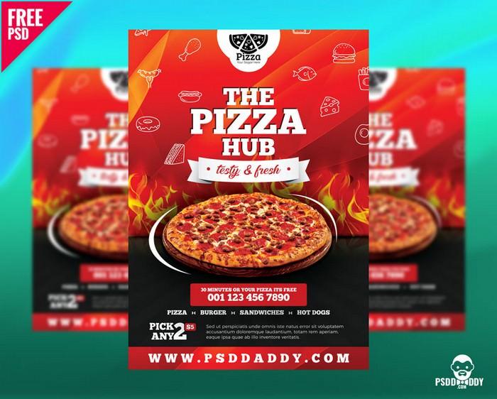 Pizza Hub Free Flyer