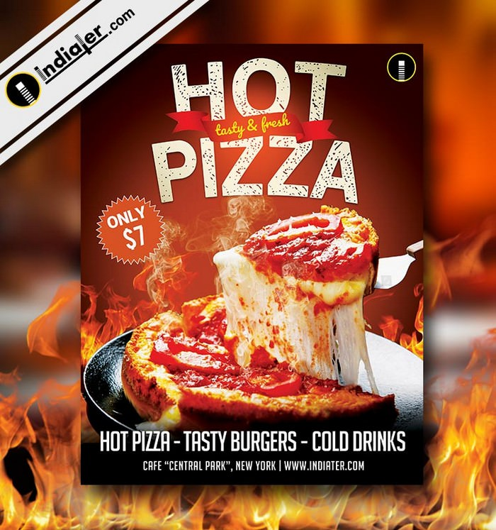 Pizza Restaurant Flyer Free