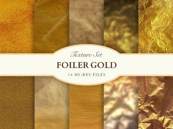 Precious Gold Textures Kit