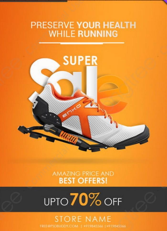 Shoe Sale Poster Design