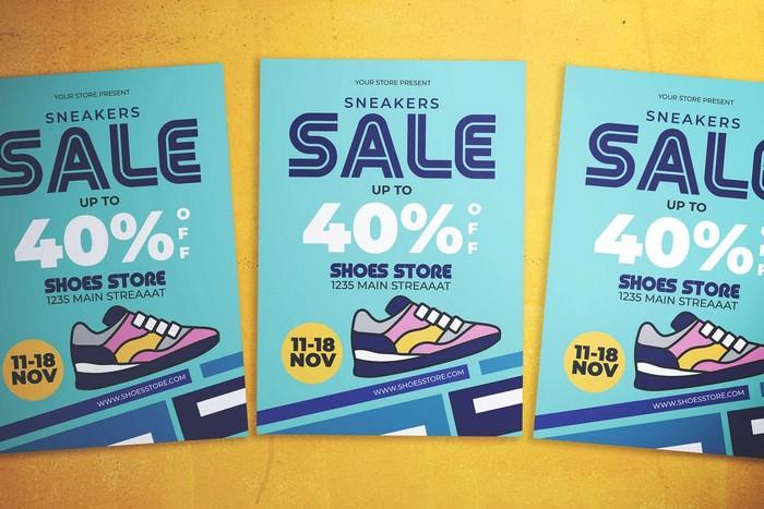 Shoes Sale Flyer