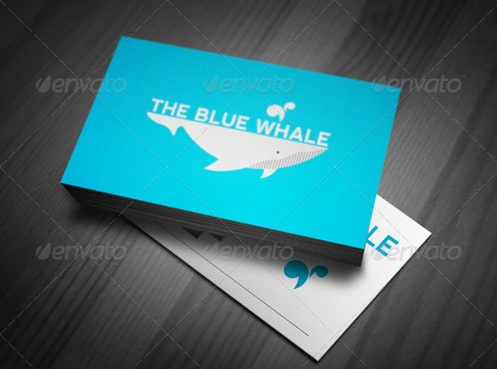 The Blue Whale Logo