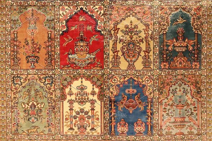 Turkish oriental Carpet Texture