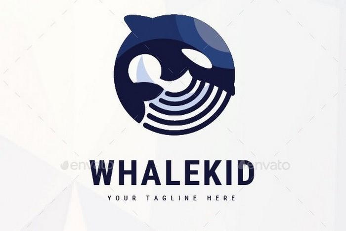 Whale Kid Logo