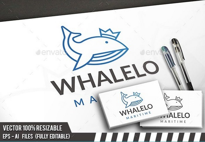 Whale King Logo