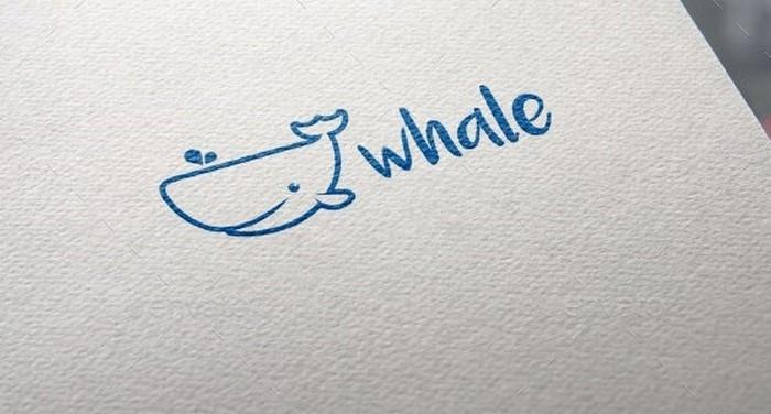 Whale Logo # 4