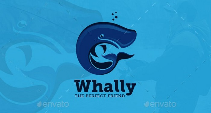 Whally The Perfect Friend Logo