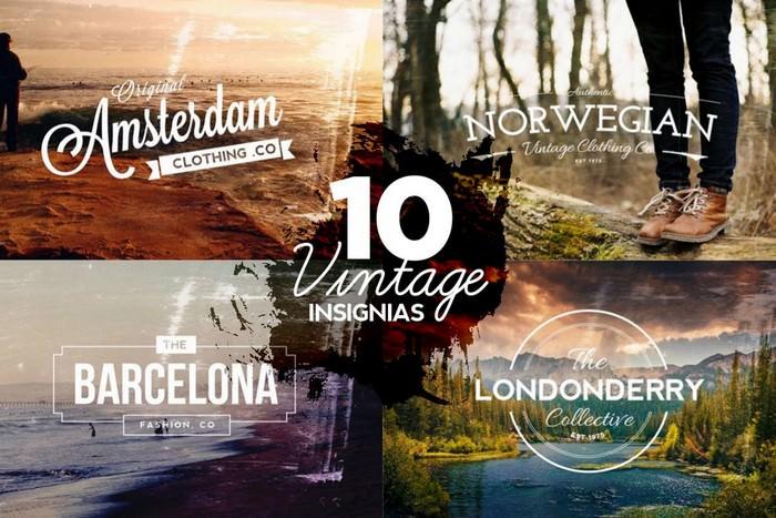 10 Vintage Insignias