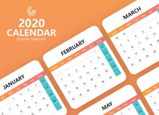 Calendar Design Template Free