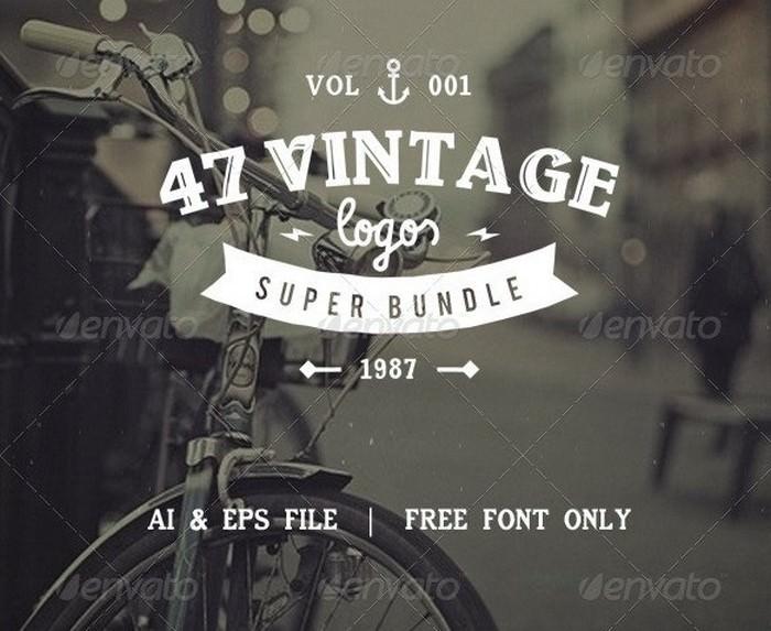 Vintage Logos Bundle